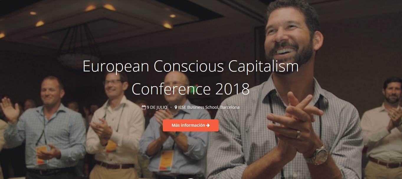 Primera conferencia Europea de Capitalismo Consciente